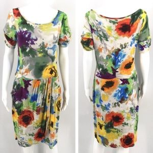 🌻ANTHROPOLOGIE WESTON WEAR WATERCOLOR DRESS